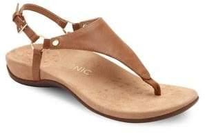 Vionic Kirra Leather Sandals