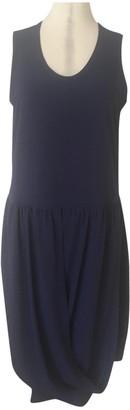Comme des Garcons Blue Polyester Dresses