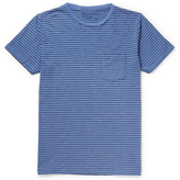 Hartford - Striped Cotton-jersey T-shirt