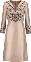 Tory Burch Embellished silk-gazar dress