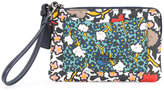 Coach floral print wallet - women - Leather - One Size