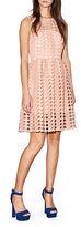 Cynthia Rowley Geo Lace Dress