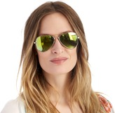 Sole Society Nyssa mirrored aviators