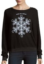 Wildfox Couture One of a Kind Snowflake Pullover