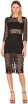 Karina Grimaldi Shell Lace Dress