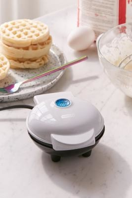 Urban Outfitters Mini Waffle Maker - White ALL at