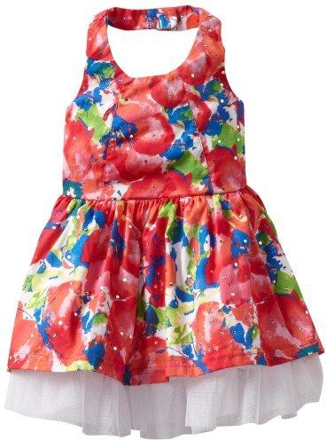 Little Lass Baby-girls Infant 1 Piece Dress with Slip