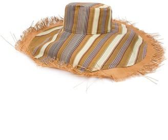 Etro Fringed Wide Brim Hat