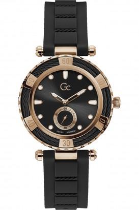 Gc LadyDiver Silicone Watch Y55002L2MF