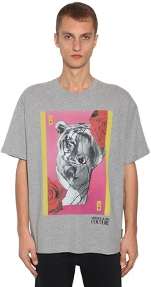 Versace Animal Print T-Shirt
