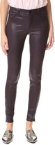 J Brand Mid Rise Stretch Leather Pants