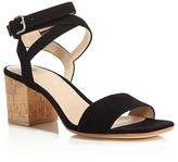 Pour La Victoire Amana Ankle Strap Block Heel Sandals