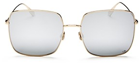 Christian Dior Women's Stellaire1 Mirrored Square Sunglasses, 59mm