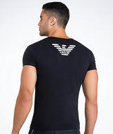 Emporio Armani Eagle Stretch Cotton V-Neck T-Shirt - Men's