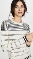 Jason Wu Long Sleeve Stripe Sweater