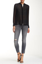 Mother The Looker Skinny Distressed Jean