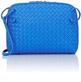 Bottega Veneta Women's Intrecciato Messenger-BLUE