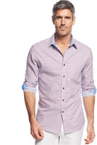 Tasso Elba Big and Tall Thomas Tattersal Shirt