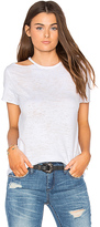 Nation Ltd. Eli Cold Shoulder Top in White. - size M (also in S,XS)