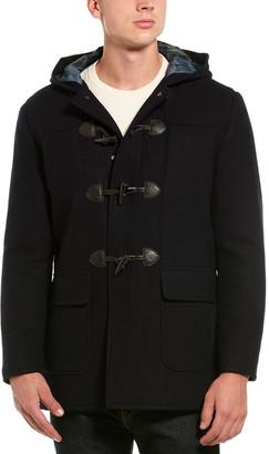 Brooks Brothers Wool-Blend Duffle Coat