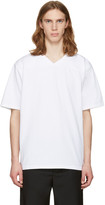 Rag & Bone White Football T-shirt