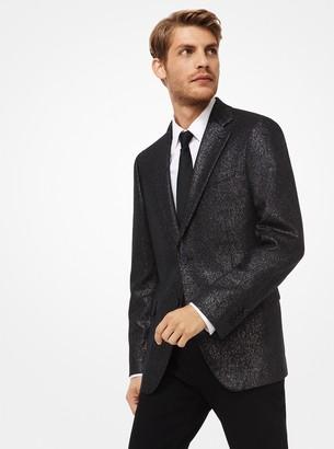 Michael Kors Lurex Wool Blazer