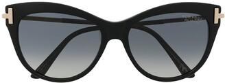 Tom Ford Cat-Eye Gradient-Lens Sunglasses