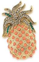 Carolee Pin Me Pineapple Pin