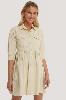 Trendyol Pleated Denim Dress