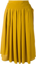 No.21 tie-fastening midi skirt - women - Silk/Acetate - 42