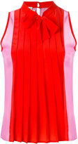 Fausto Puglisi pleated blouse