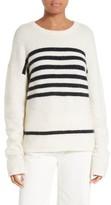 Frame Women's Stripe Boyfriend Sweater