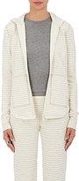ATM Anthony Thomas Melillo Women's Striped Cotton-Blend Hoodie