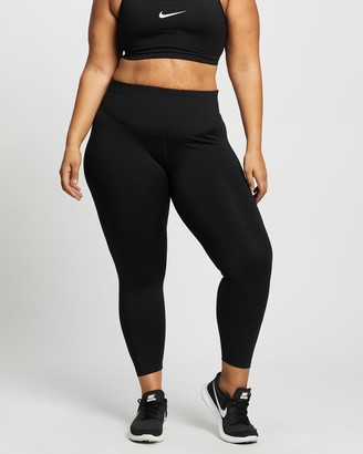Nike Women's Black Tights - Plus Size One Mr Tight Leggings 2.0 - Size 1X at The Iconic