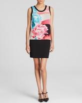 DKNY DKNYC Print Shift Dress