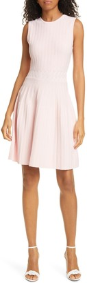 Ted Baker Sleeveless Knit Fit & Flare Dress