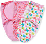 Swaddleme Baby Girl SwaddleMe 3-pk. Adjustable Infant Swaddles