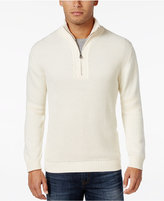 Weatherproof Vintage Men's Textured Quarter-Zip Sweater, Classic Fit