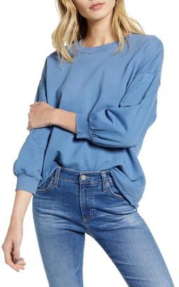AG Jeans Orson Distressed Sweatshirt