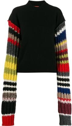 Colville Striped Sleeve Jumper