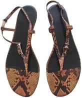 Gucci Python sandal