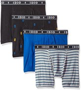 Izod Men's 4pk Cotton Boxer Brief Fly