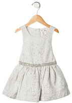 Max Studio Girls' Embellished Brocade Dress