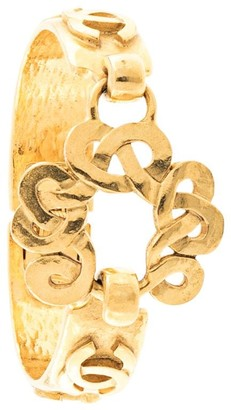 Chanel Pre Owned 1997 CC bangle
