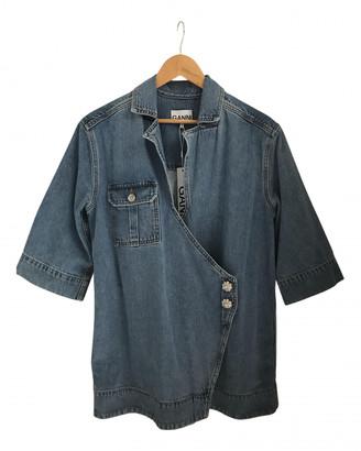 Ganni Spring Summer 2020 Blue Denim - Jeans Jackets