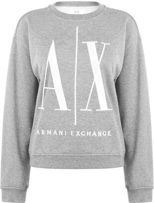 Armani Exchange Armani Logo Sweater