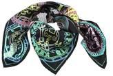 Kenzo Foulard Black Neon Badges
