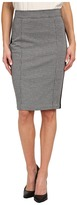 NYDJ Knit Jacquard / Ponte Mix Pencil Skirt