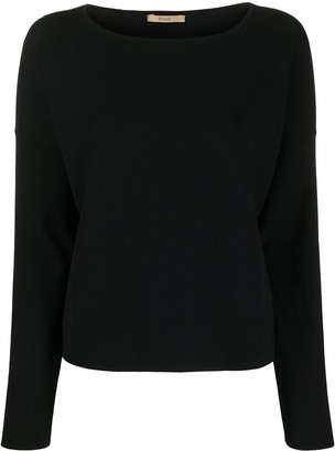 Nuur Ribbed Long Sleeve Jumper