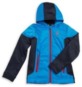 Spyder Boy's Blurred Hybrid Jacket